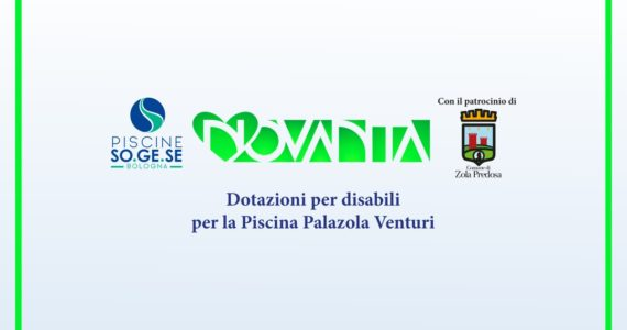 Dotazioni per disabili per la Piscina Palazola Venturi